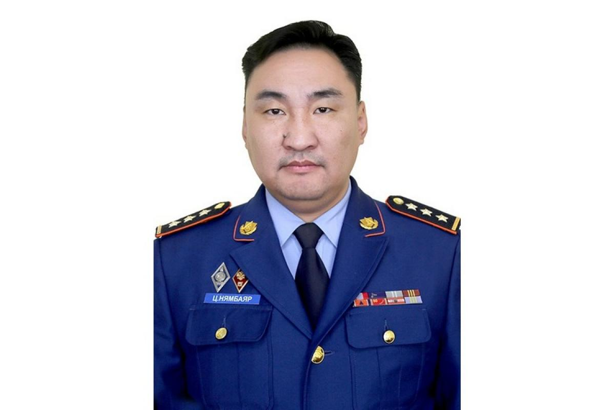 Happy Birthday to the Head of the Fire Department of the State Emergency Management Agency of Mongolia - Tsedev Nymbayar on his birthday!