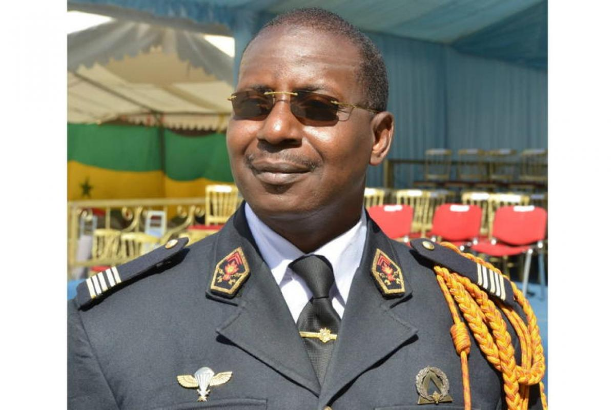 Happy Birthday to Ndiaye Abdoulaye, Head of the Fire Service of the Republic of Senegal